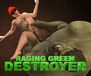 Raving Green Destroyer